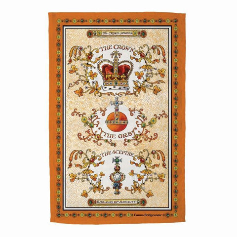 Emma Bridgewater - Crown Jewels Tea Towel - The Chef Pad Shop