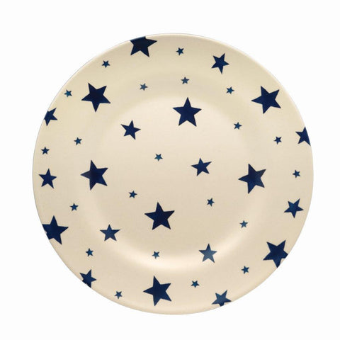 Emma Bridgewater - Starry Skies 2 Tone Melamine/Bamboo Plate - The Chef Pad Shop