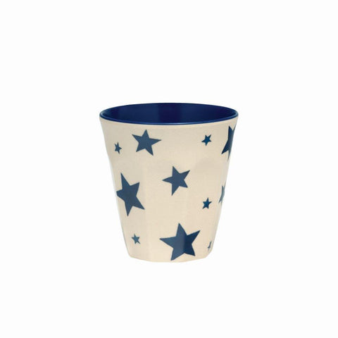 Emma Bridgewater - Starry Skies 2 Tone Melamine/Bamboo Beaker - The Chef Pad Shop