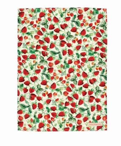 Emma Bridgewater - Strawberries Tea Towel - The Chef Pad Shop