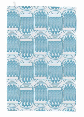 Thornback & Peel - Tea Towel - Sardine - The Chef Pad Shop