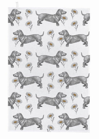Thornback & Peel - Tea Towel - Dog & Daisy - The Chef Pad Shop