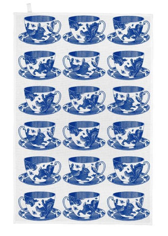 Thornback & Peel - Tea Towel - Tea Cup - The Chef Pad Shop