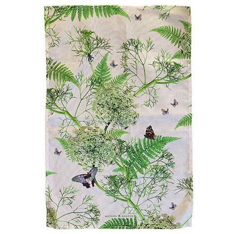 Michael Angove Cream Dill Tea towel - The Chef Pad Shop