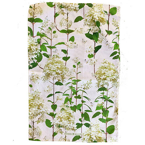 Michael Angove Hydrangea Tea Towel - The Chef Pad Shop