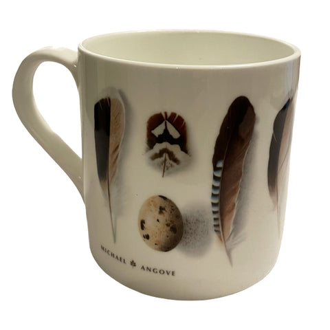 Michael Angove Bone China Feathers Mug - The Chef Pad Shop