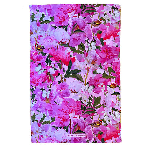 Michael Angove Peony Crush Tea Towel - The Chef Pad Shop
