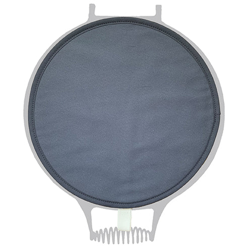 Dark Grey Plain Chefs Pad for use with AGA range cooker - The Chef Pad Shop