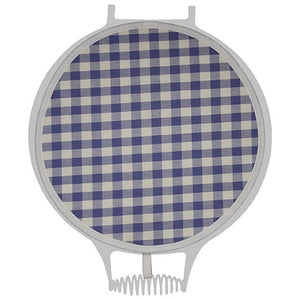 Purple Check Hob Cover For Use With Aga Range Cookers - The Chef Pad Shop