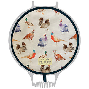 Sarah Whitaker Game Birds Chefs Pad for use with Aga - The Chef Pad Shop
