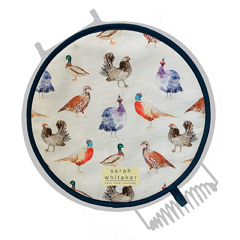 Sarah Whitaker Game Birds Chefs pad for use with Esse (2 Pack) - The Chef Pad Shop