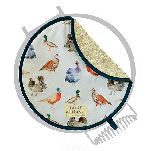 Sarah Whitaker Game Birds Chefs pad for use with Esse (1 Pack) - The Chef Pad Shop