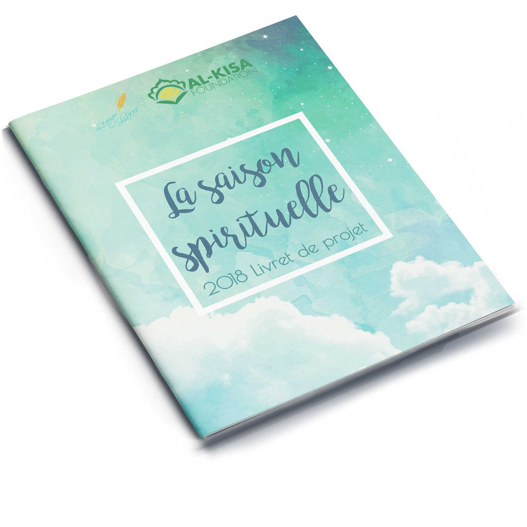 Spiritual Season 1439 | 2018 Project Booklet (French)