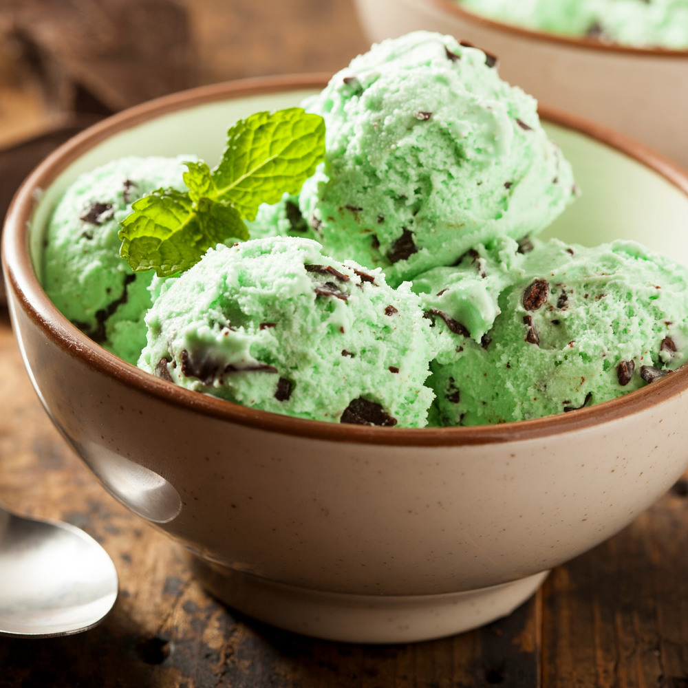 "Mint Chocolate Chip Vegan ""Nice"" Cream"