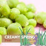 Creamy Spring Peas with Bacon