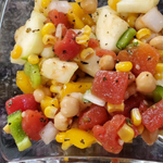 Grandma T's Vegan Zucchini and Bean Salad
