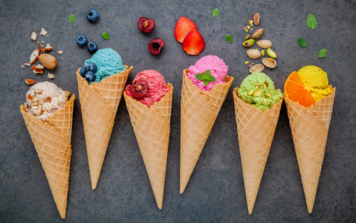 Add Your Own Unique Twist to America's Favorite Ice Cream Flavors