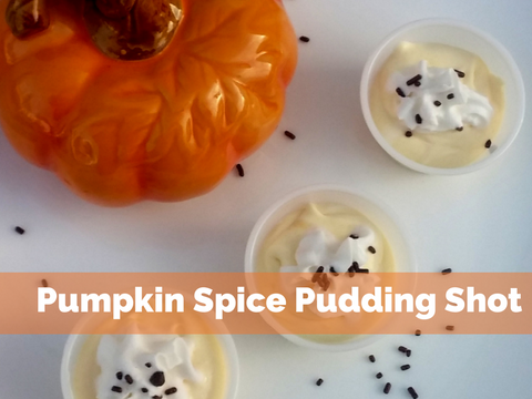 Pumpkin Spice Pudding Shot