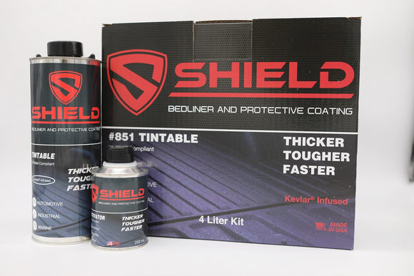 TCI Products SHIELD Bed Liner 4 Liter Kits