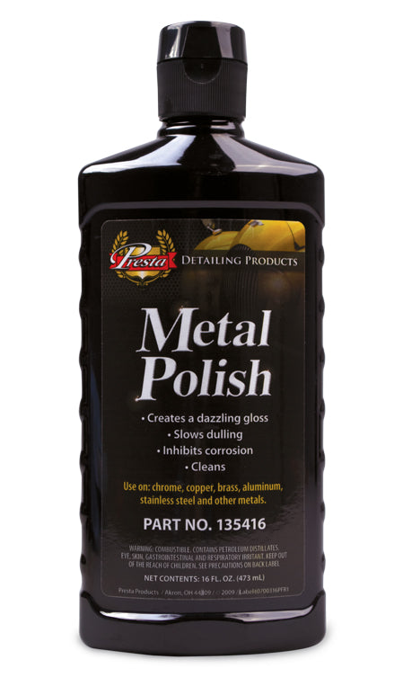 Presta 135416 Metal Polish 16 oz.