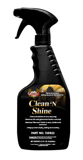 Presta 138822 Clean 'N Shine 22 Fl. Oz.