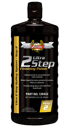 Presta 139432 Ultra 2 Step® Finishing Polish 32 oz.