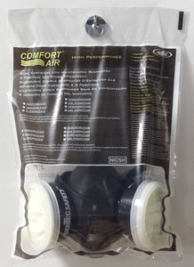 Dentec Safety Comfort- Air OV/N95 Respirator with 400 Series Elastomeric Mask