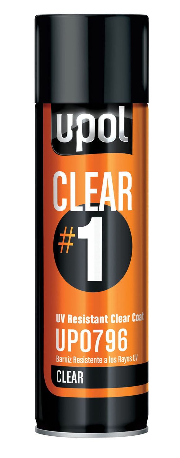 U-Pol UP0796 CLEAR#1 UV Resistant High Gloss Clearcoat