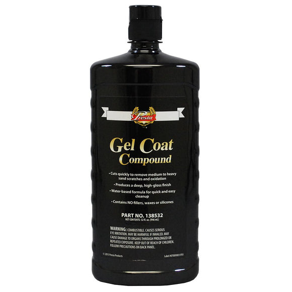 Presta 138532 Gel Coat Compound 32 oz. bottle