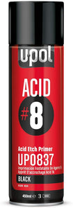 U-Pol UP0837 ACID #8 Black Acid Eich Primer