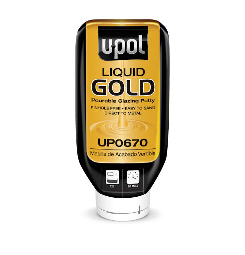 U-POL UP0670 LIQUID GOLD™ Pourable Glazing Putty