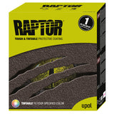 U-Pol RAPTOR™ UP0821 Tintable Truck Bed Liner Kit + 1 Spray Gun