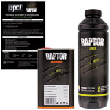 U-Pol RAPTOR™ Tintable UP4802 Urethane Truck Bed Liner 1 Liter kit