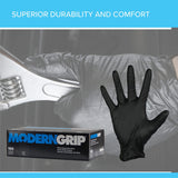 ECOGARD Modern Grip® 6 mil Nitrile, Disposable Gloves, Box of 100