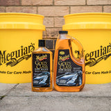Meguiar's G7164 Gold Class Car Wash Shampoo & Conditioner, 64 oz.