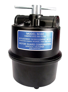 Motor Guard M-60 Sub-Micronic Compressed Air Filter