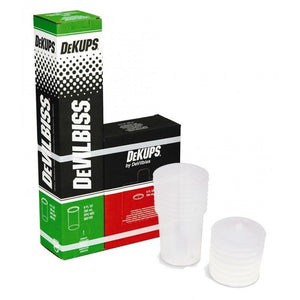 DeVilbiss® 802102 DeKups® DPC-602 Gravity Feed 9 oz./265 ml Disposable Lids and Liners
