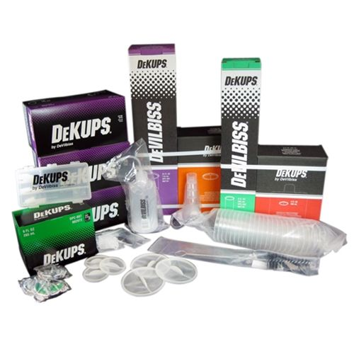 DeVilbiss® 802371 DeKups® DPC-650 Shop Start Up Kit