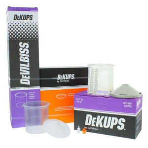 DeVilbiss® DeKups® 24 oz Cups, Lids & Liners Starter Kit
