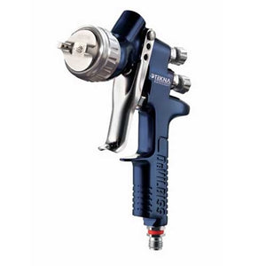 DeVILBISS® 703892 TEKNA® Basecoat Gravity Feed Spray Gun, 1.2mm and 1.3mm (Uncupped)
