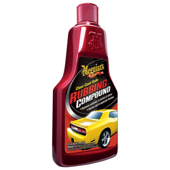Meguiar's G18016 Clear Coat Safe Rubbing Compound, 16 oz.