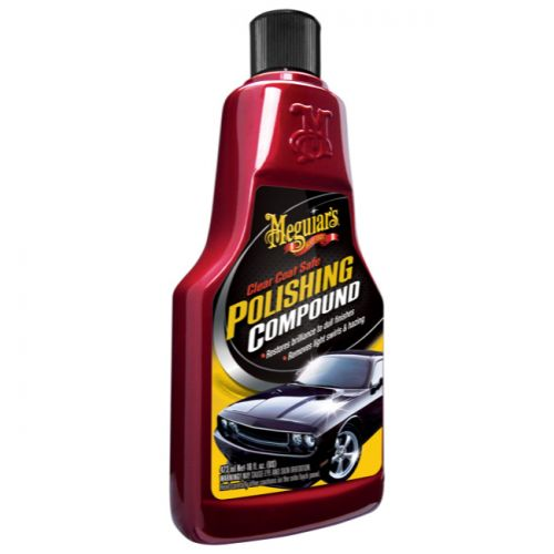 Meguiar's G18116 Clear Coat Safe Polishing Compound, 16 oz.