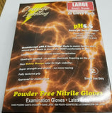 ASP ORANGE NITRILE GLOVES, 6 mil with pH5.5 Technology! ( 20 Gloves Per Pack )
