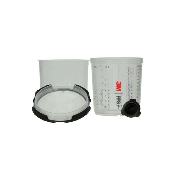3M™ 26024 PPS™ Series 2.0 Spray Cup System Kit 28 fl oz (Large) 200 Micron Filter