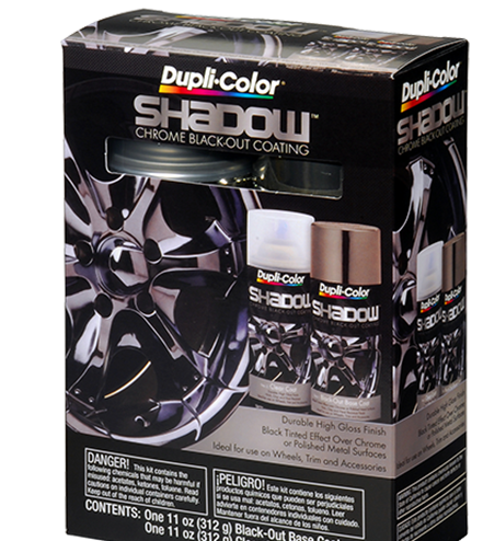Dupli-Color® Shadow® Chrome Black-Out Coating