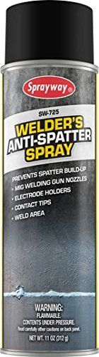 Sprayway SW-725 Welder's Anti-Spatter Spray 11 oz spray.