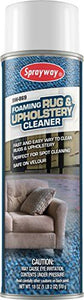 Sprayway SW869 Foaming Rug & Upholstery Cleaner 18 oz spray.