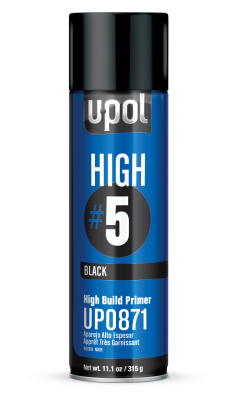 U-Pol HIGH #5 High Build Primer, Premium Aerosols