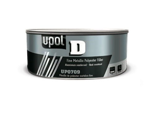 U-Pol UP0709 U-POL D™ Specialty FILLER (Silver Gray) 1.1L Tin