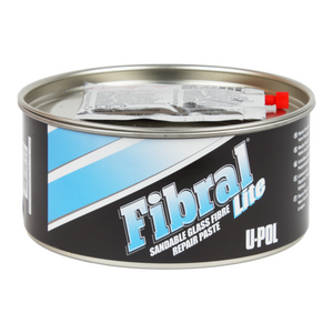 U-Pol UP0766 FIBRAL Lite Fiberglass Filler (Pale Yellow)1 Quart Tin